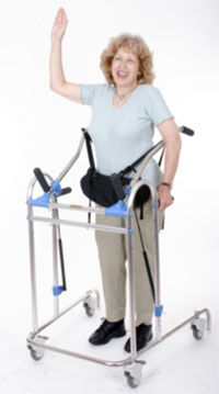 Gait Trainer Pediatric Walkers Stander Walker On