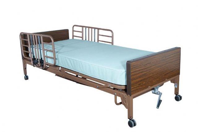 Hospital Bed Quarter Rails