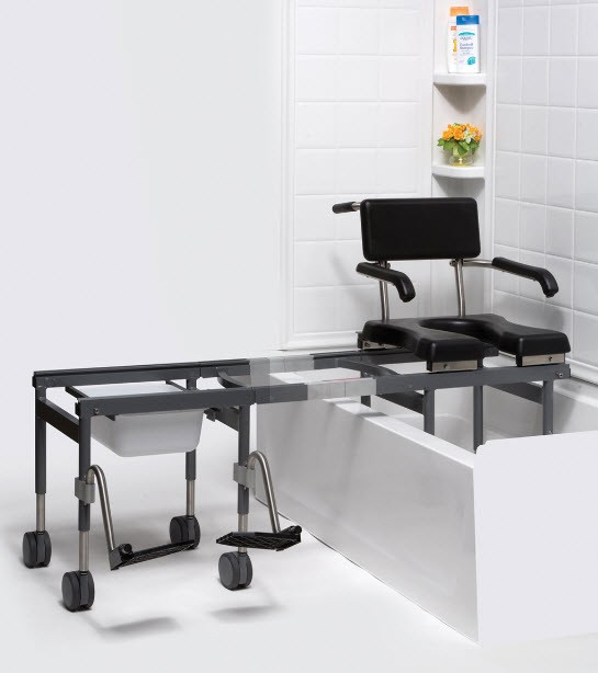sliding shower chair - 28 images - duro med heavy duty sliding ...