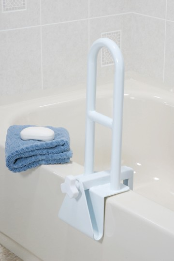 Bathroom grab bars bathtub rails handicap bathroom for Where can i buy a bathtub